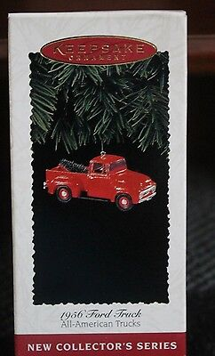 "1995 All-American Trucks ""1956 Ford Truck"" Hallmark Keepsake Ornament  Nib"