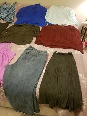 Lot of Plus Size Clothing 18/20 and 2X Mostly