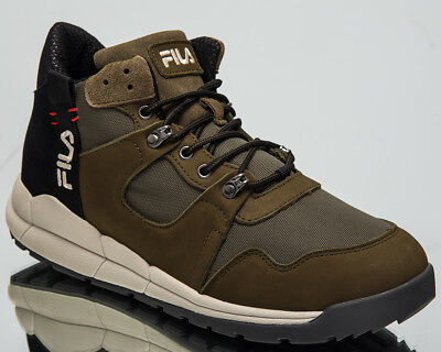 860ab80ed68c Fila Norton Mid Men s Lifestyle Shoes Olivine Black 2018 Sneakers  1010498-50K