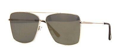 05ddb98b66cd8 NEW TOM FORD Magnus TF193 Col. 28E Champagne Gold w  Brown Lenses ...