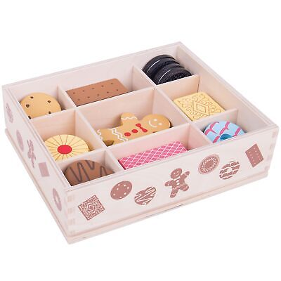 Bigjigs Childs / Kids Toys Biscuit Box - Children Aged 3 Years + Pretend Play