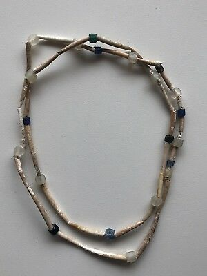 Old 19th Century Plains Indian Dentalium Shell Necklace #2