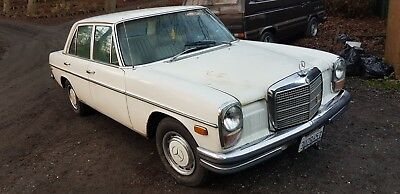 1972 MERCEDES BENZ 250 CALIFORNIAN IMPORT 6 cyl AUTO