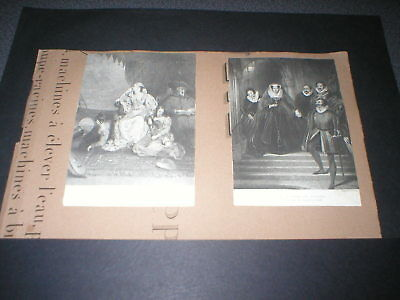 c1820 Mary Queen of Scots, Two Antique Engravings