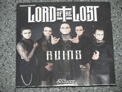 CD Lord Of The Lost 5-track EP RUINS