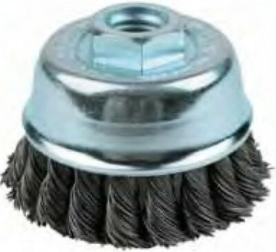 "4"" Single Row Knotted Cup Brush With 5/8"" Arbor Hole - Kh296"