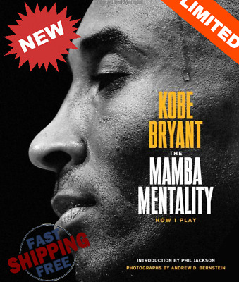 The Mamba Mentality: How I Play - Hardcover - by Kobe Bryant  NEW fast shipping