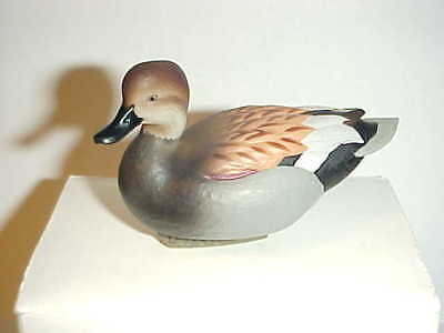 "2013 JETT BRUNET ""DUCKS UNLIMITED"" MINIATURE DECOY GADWALL Duck"