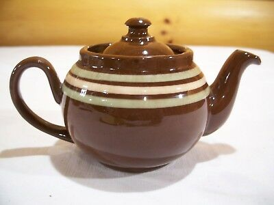 Old English Red Ware 2 cup Teapot made by Ridgeway ,