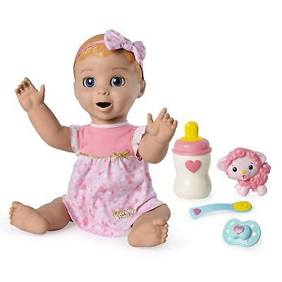 LUVABELLA Doll Blonde Hair Interactive Baby Electronic Realistic Movement - 2018