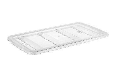 TemoWare 4 Compartments Cutlery Tray - Dispenser Lid 530(W) x 290(D) x 30(H) mm