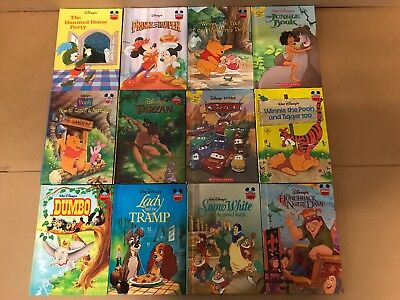 Lot of 21 Wonderful World of Reading Walt Disney Cartoon Kids Books MIX RL #BB4
