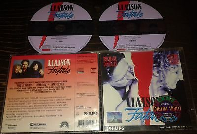 Liaison Fatale Tres Rare Film En Double Cdi Interactif Video Cd