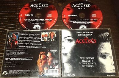 Les Accuses Tres Rare Film En Double Cdi Interactif Video Cd