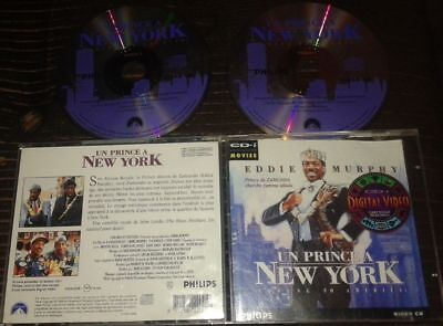 Un Prince A New York Tres Rare Film En Double Cdi Interactif Video Cd