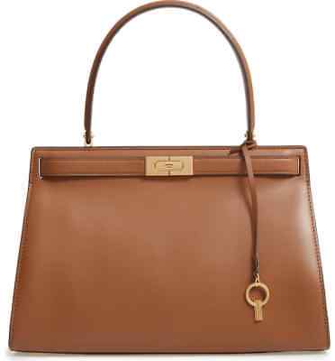 NWT Tory Burch Authentic Limited Edition Moose Brown Lee Radziwill Satchel
