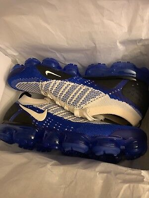Nike Air Vapormax Flyknit 2 Blue Beige Men's Size 11