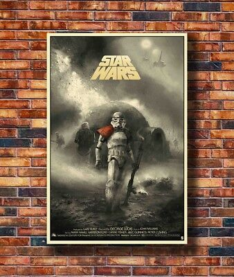 Art Star Wars A New Hope Stormtrooper Movie -20x30 24x36in Poster Hot Gift C2653