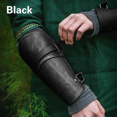 Outdoor Leather Forearm Guards Medieval Supports Ancient Roman Arm Guard Bracers