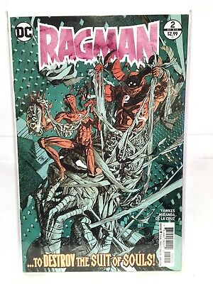 Ragman (Vol 3 2017/2018) #2 NM- 1st Print DC Comics