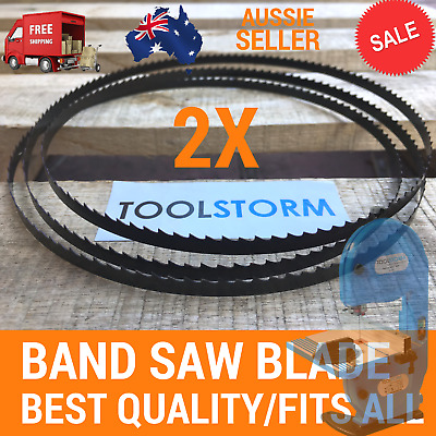 TOOLSTORM WOOD BAND SAW BANDSAW BLADE 2x 1400mm x 6.35mm x 6 TPI Premium Quality