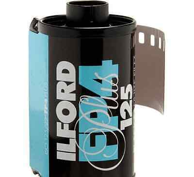 Ilford FP4 Plus Black and White Negative Film (35mm Roll Film, 24 Expo