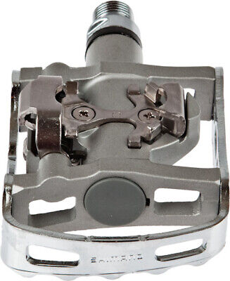 Shimano M324 MOUNTAIN BIKE PEDALS Serviceable Cup /& Cone Bearing,Silver*JP Brand