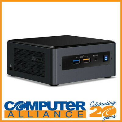 "Intel BOXNUC8I7BEH4 NUC Gen8 Core i7 M.2 & 2.5"" HDD with Wireless-AC"