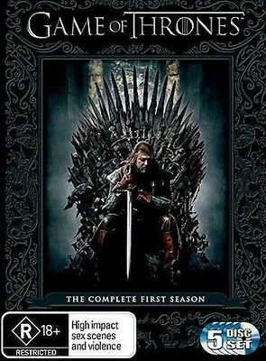 Game Of Thrones : Season 1 (DVD, 5-Disc Set) NEW