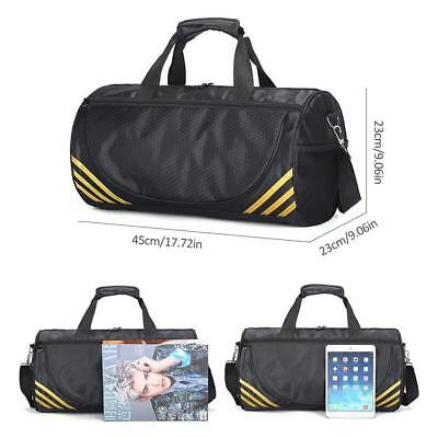 0d2f434c0d Gym Sports Kit Bag Holdall Backpack Duffle Fitness Training Travel Rucksack  AA#