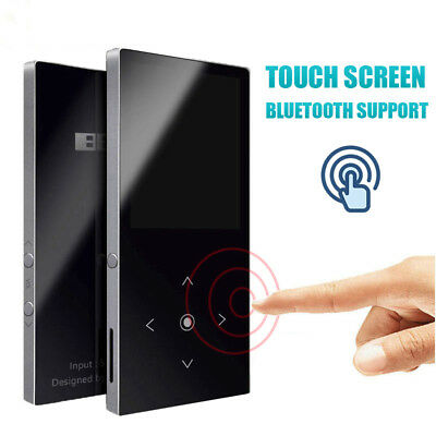 """4G Portable Lossless Sound Music 1.8"""" LCD Touch Screen MP3 Player Support 64GB"""