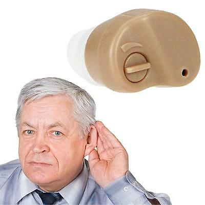 2pcs Small In Ear Invisible Best Sound Amplifier Adjustable Tone Hearing Aids WN