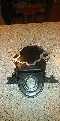 87-93 Ford Mustang  Timing Cover POWDERCOATED Satin Black 5.0 302