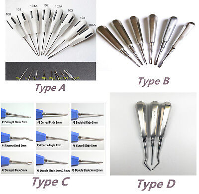 Dental Tooth Extraction Elevators Luxating Apical Root Tip Elevator Surgical