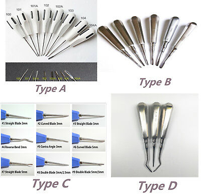 1X Dental Minimally Invasive Tooth Extraction Elevators Luxating Apical Root Tip