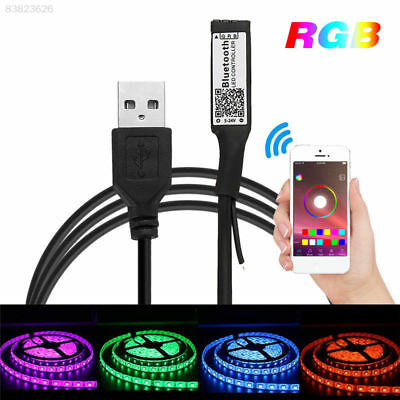 Bluetooth LED Controller USB Powered for RGB LED Light Strip Smart Phone Control