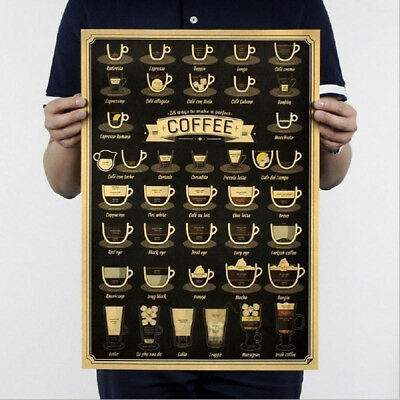 Collection of Rifles Coffee Wine Guide Cup Bar Kitchen Club Vintage Poster Decor