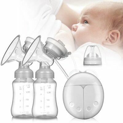 Breast Pump Double Breast pumps Safe Milk Storage Bottle Dual Control Milk 150ml
