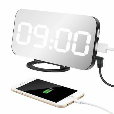 "Digitale Sveglia Elettronica, Display LED da 6,5"", con Funzione di Snooze"