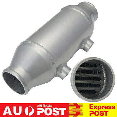 "Barrel Water to Air Intercooler Charge Air Cooler 4""x6"" For Turbo Supercharger"