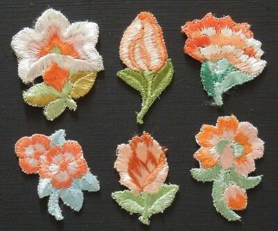 FLOWER SILKS Quilting Patchwork Needlework EMBROIDERY APPLIQUE