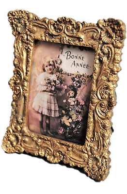 Photo Picture Photograph Frame Ornate Vintage Style Antique Gold Photo frame
