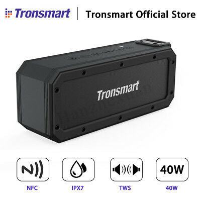 40W Tronsmart Element Force Bluetooth Speaker NFC Tri-Bass Stereo Subwoofer