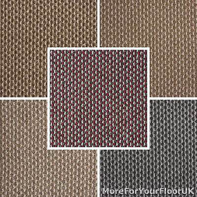 Cheap Carpet Stain Resistant Hard Wearing Loop Pile Brown Grey Beige Felt Back