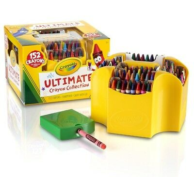 Crayola Ultimate Collection 152 Crayons - Hours of Colouring fun!