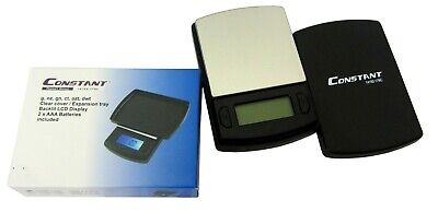 0.01g Constant Mini Pocket Scales With Expansion Tray 100g Capacity