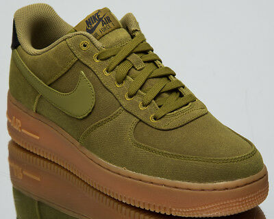 84807203b Nike Air Force 1 '07 LV8 Style Men's New Camper Green Casual Sneakers  AQ0117-