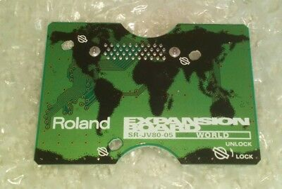 ROLAND SR-JV 80-05 World Expansion Board: JV 1080 2080 XV3080 XV5080