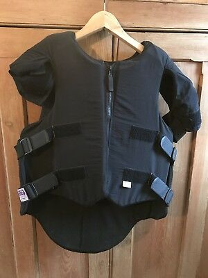 Men's horse riding body protector