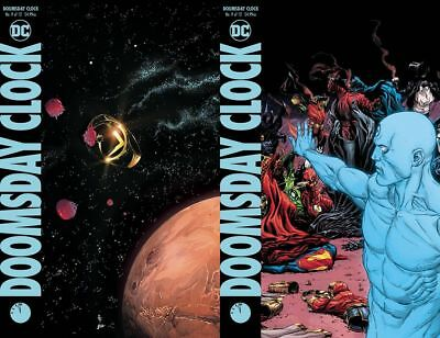 Doomsday Clock #9 (of 12) A&B Cover variant Set Ships FREE January Watchmen